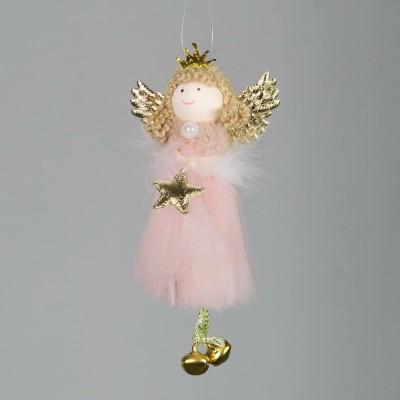 Aniołek na choinkę zawieszka